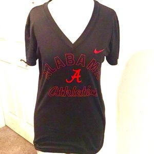 Nike Alabama game day dry fit black size medium
